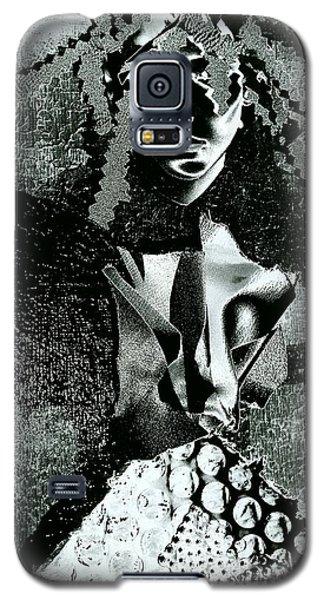 Shadow Galaxy S5 Case by Jacqueline McReynolds