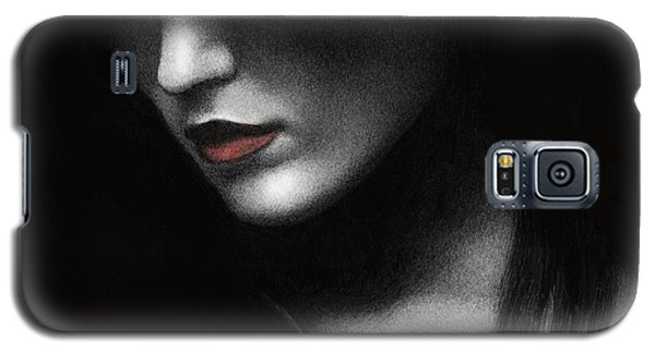 Shadowed In My Mind Galaxy S5 Case by Pat Erickson
