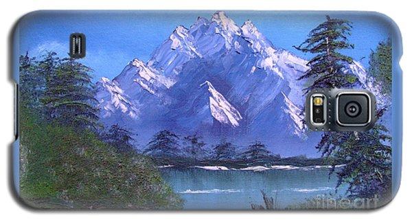 Shadowed Mountain Lake Galaxy S5 Case