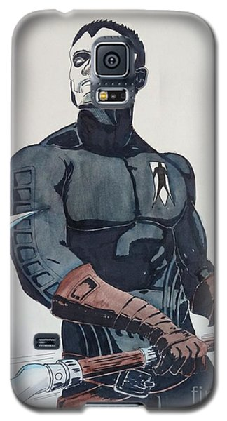 Shadowman II Galaxy S5 Case by Justin Moore