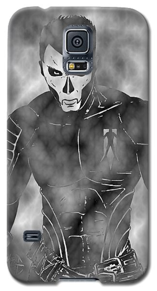 Shadowman In The Dead Grounds Galaxy S5 Case