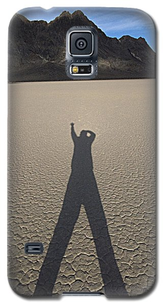 Galaxy S5 Case featuring the photograph Shadowman by Joe Schofield