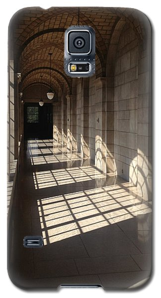 Galaxy S5 Case featuring the photograph Shadows And Stone by Rod Seel
