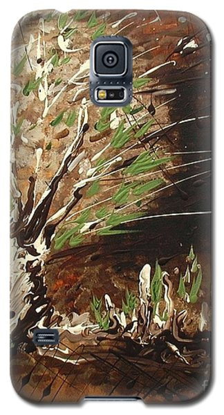 Galaxy S5 Case featuring the painting Shadows by Holly Carmichael