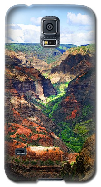 Shadows Of Waimea Canyon Galaxy S5 Case