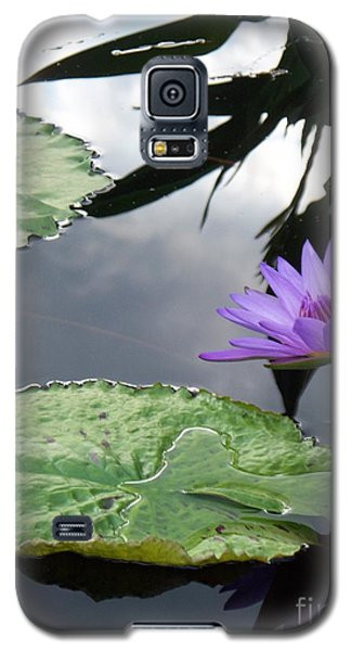 Shadows On A Lily Pond Galaxy S5 Case