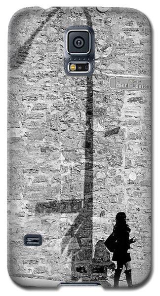 Shadows On St-laurent Galaxy S5 Case by Valerie Rosen
