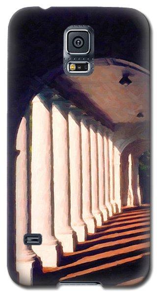 Galaxy S5 Case featuring the digital art Shadows University Of Virginia by Spyder Webb