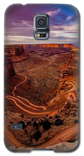 Shafer Trail Vertical Galaxy S5 Case