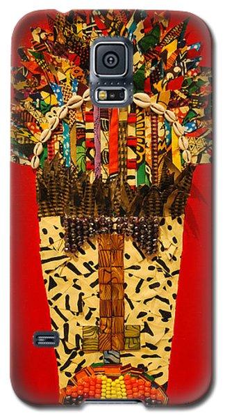 Shaka Zulu Galaxy S5 Case by Apanaki Temitayo M