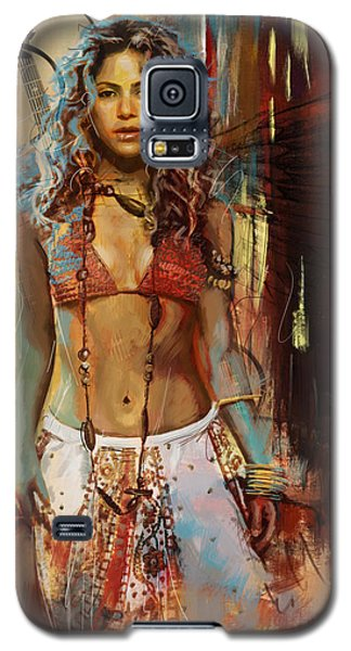 Shakira  Galaxy S5 Case by Corporate Art Task Force