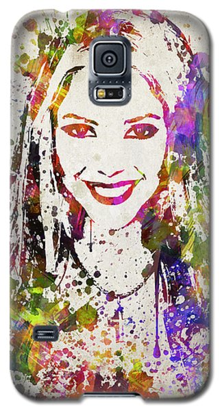 Shakira In Color Galaxy S5 Case by Aged Pixel