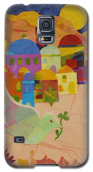 Shalom  Galaxy S5 Case by Diane Miller