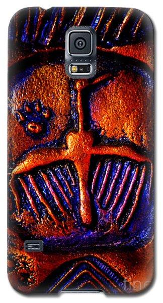 Shamanic Desert Galaxy S5 Case by Susanne Still