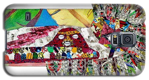 Shango Firebird Galaxy S5 Case by Apanaki Temitayo M