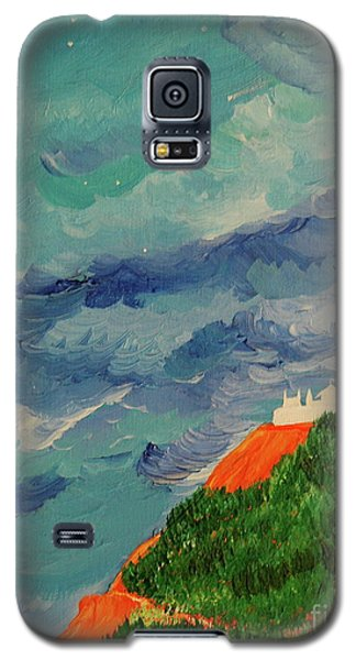 Galaxy S5 Case featuring the painting Shangri-la by First Star Art