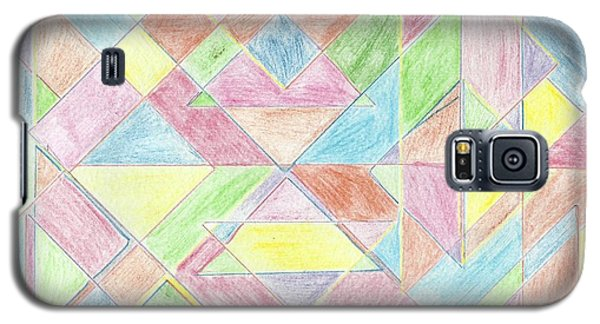 Shapes Of Colour Galaxy S5 Case by Tracey Williams