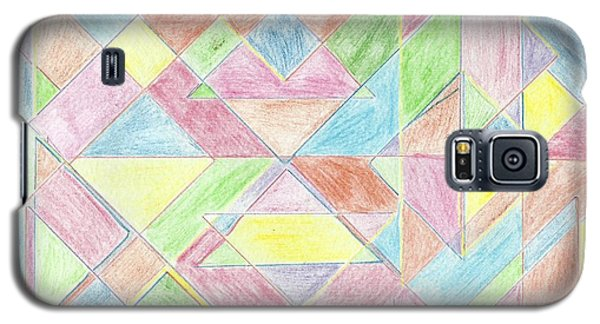 Shapes Of Colour Galaxy S5 Case