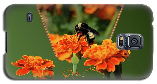 Galaxy S5 Case featuring the photograph Sharing The Nectar Of Life by Thomas Woolworth