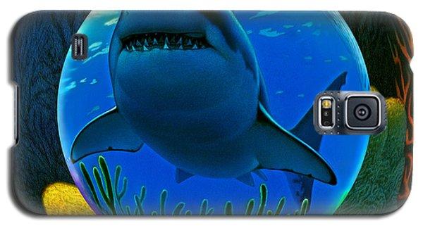 Shark World  Galaxy S5 Case by Robin Moline