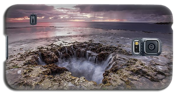 Sharks Mouth Cove Galaxy S5 Case by Robert  Aycock