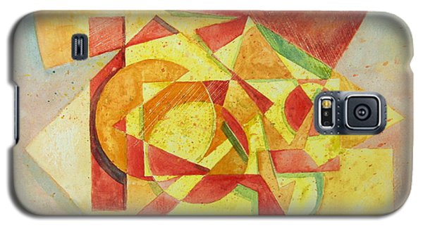 Galaxy S5 Case featuring the painting Sharp Edges by Andrew Gillette
