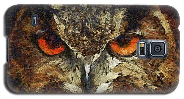 Sharpie Owl Galaxy S5 Case