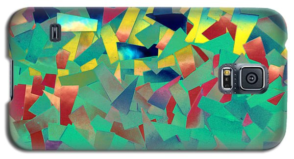 Shattered Color Galaxy S5 Case by Kjirsten Collier