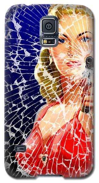 Shattered Galaxy S5 Case