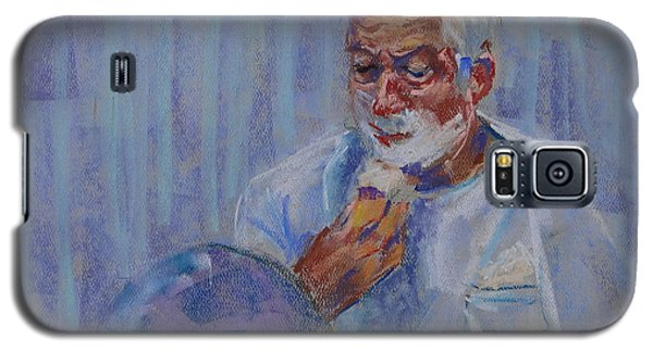 Shave And A Haircut Galaxy S5 Case by Carol Berning
