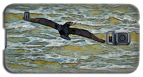 Galaxy S5 Case featuring the photograph Shawnee Lake Wild Duck 3 by G L Sarti