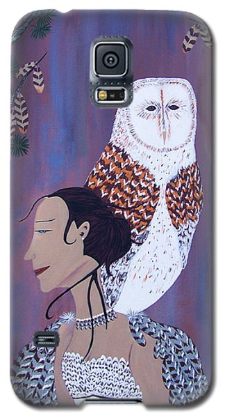 She Flies With The Owls Galaxy S5 Case