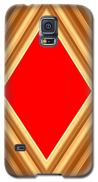 She Said Love Was Red  Galaxy S5 Case