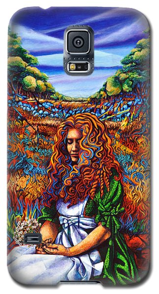 Galaxy S5 Case featuring the painting She Was... by Greg Skrtic