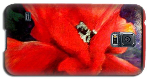 She Wore Red Ruffles Galaxy S5 Case by Gail Kirtz