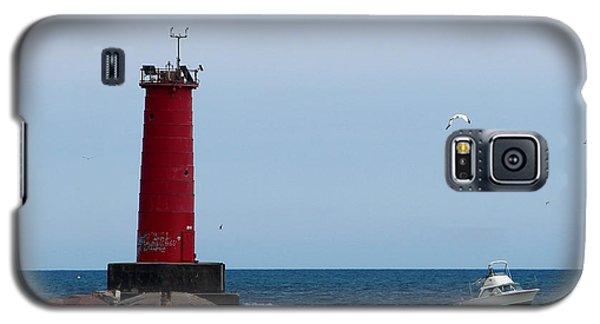 Sheboygan Breakwater Lighthouse Galaxy S5 Case
