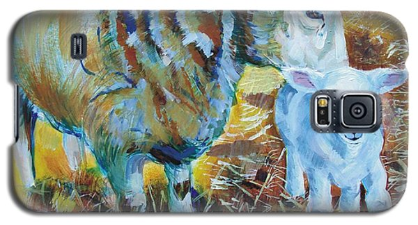 Sheep And Lamb Galaxy S5 Case