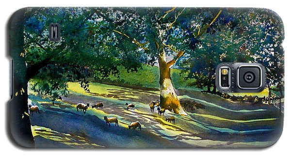 Sheep And Shade Galaxy S5 Case