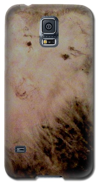 Galaxy S5 Case featuring the painting Sheep Dog by Mike Breau