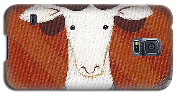 Sheep Galaxy S5 Case - Sheep Guitar by Christy Beckwith