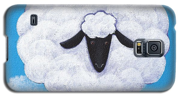 Sheep Nursery Art Galaxy S5 Case by Christy Beckwith