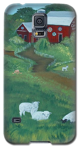 Sheeps In The Meadow Galaxy S5 Case