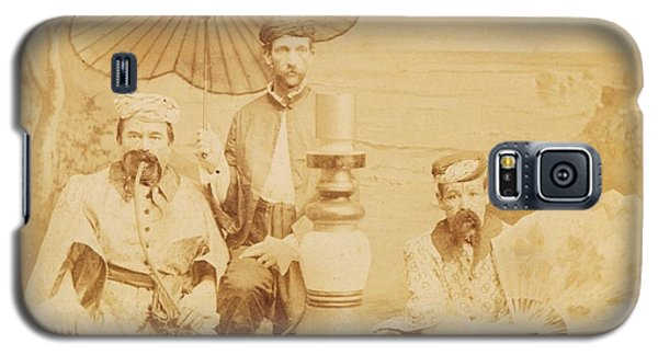 Galaxy S5 Case featuring the photograph Sheiks by Paul Ashby Antique Image