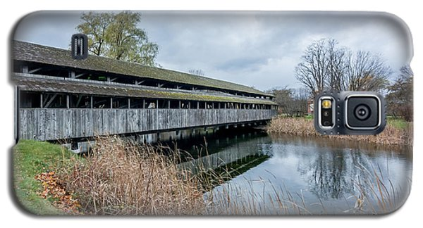 Shelburne Covered Bridge Galaxy S5 Case