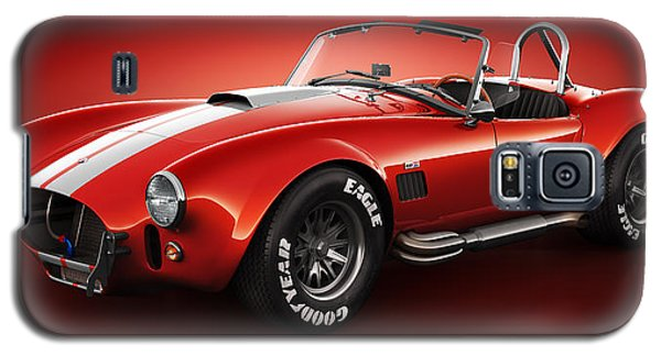 Shelby Cobra 427 - Bloodshot Galaxy S5 Case by Marc Orphanos