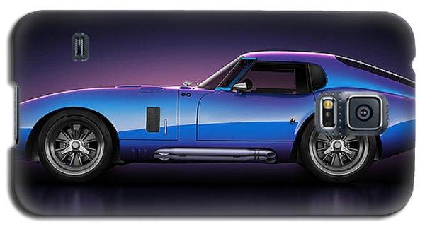 Galaxy S5 Case featuring the digital art Shelby Daytona - Velocity by Marc Orphanos