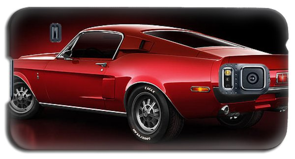 Shelby Gt500 - Redline Galaxy S5 Case by Marc Orphanos