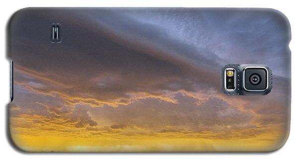 Shelf Cloud At Sunset Galaxy S5 Case