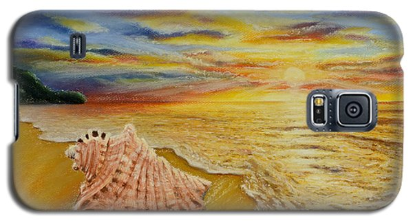 Shell At Sunset Galaxy S5 Case