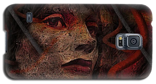Shell Cyborg Portrait Galaxy S5 Case